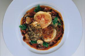 Rognon de veau confit dans sa graisse champignons des bois par alain ducasse - Comment cuisiner les rognons de veau ...