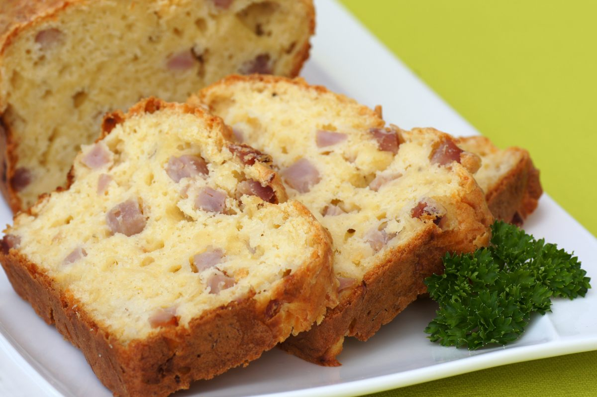 Accompagnement Cake Jambon Fromage