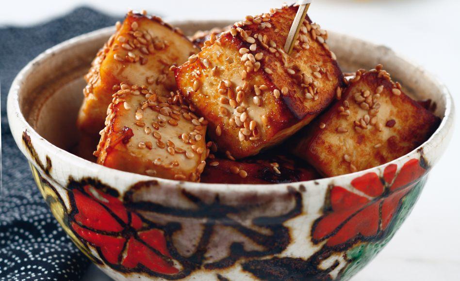 Tofu mariné au soja par Julie Andrieu on