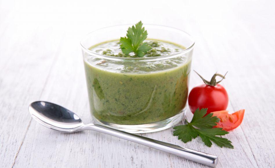recette de Gaspacho de courgettes