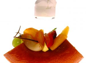 Savarin aux fruits par Alain Ducasse