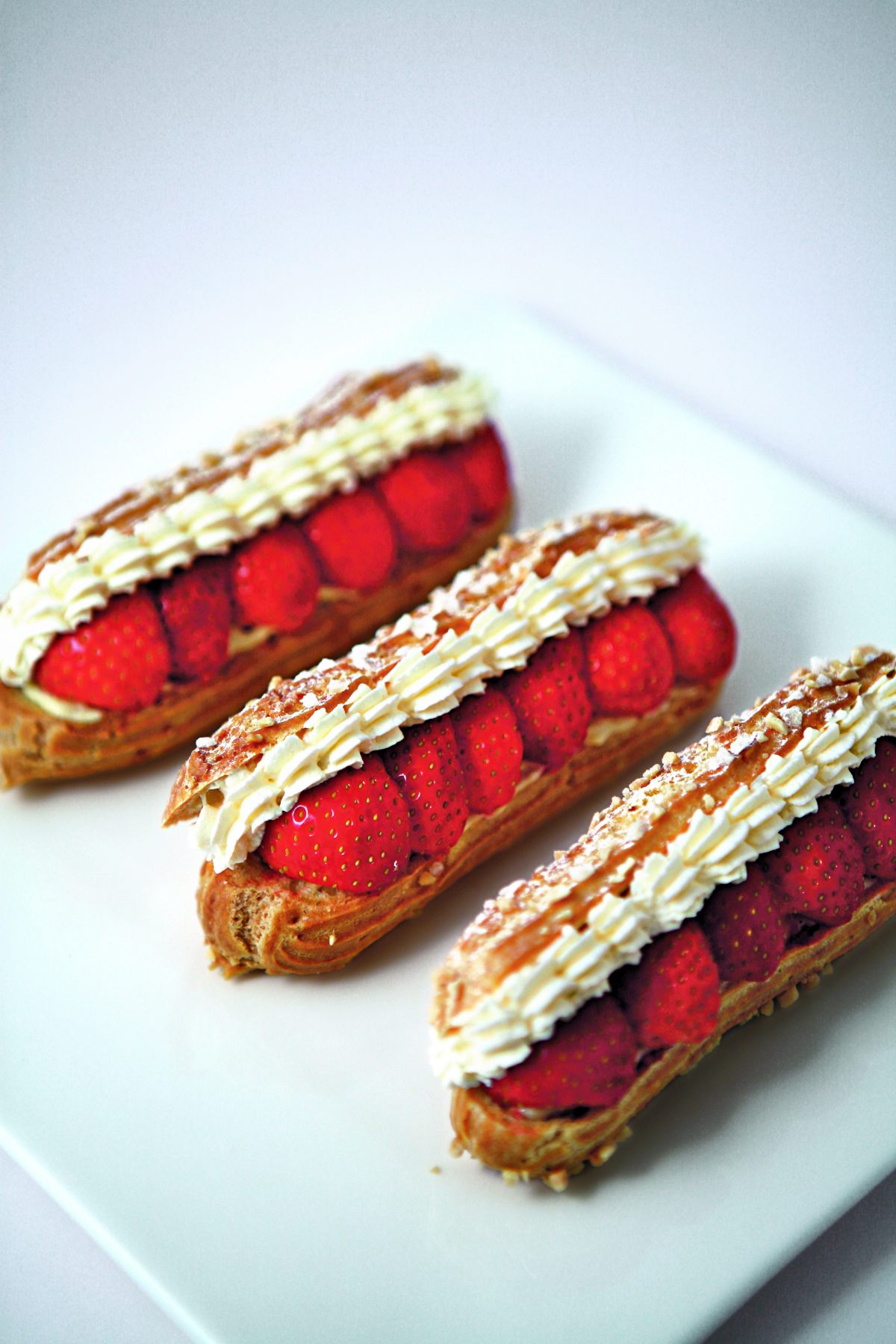 Clairs aux fraises par l 39 cole de cuisine alain ducasse for Alain ducasse ecole de cuisine