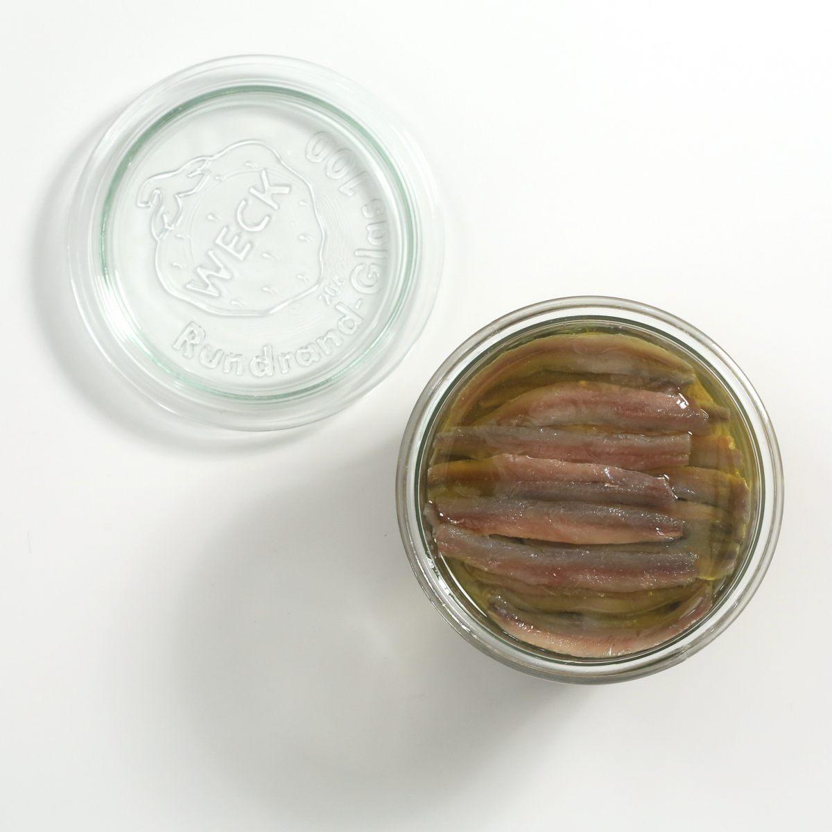 Anchois à l'huile