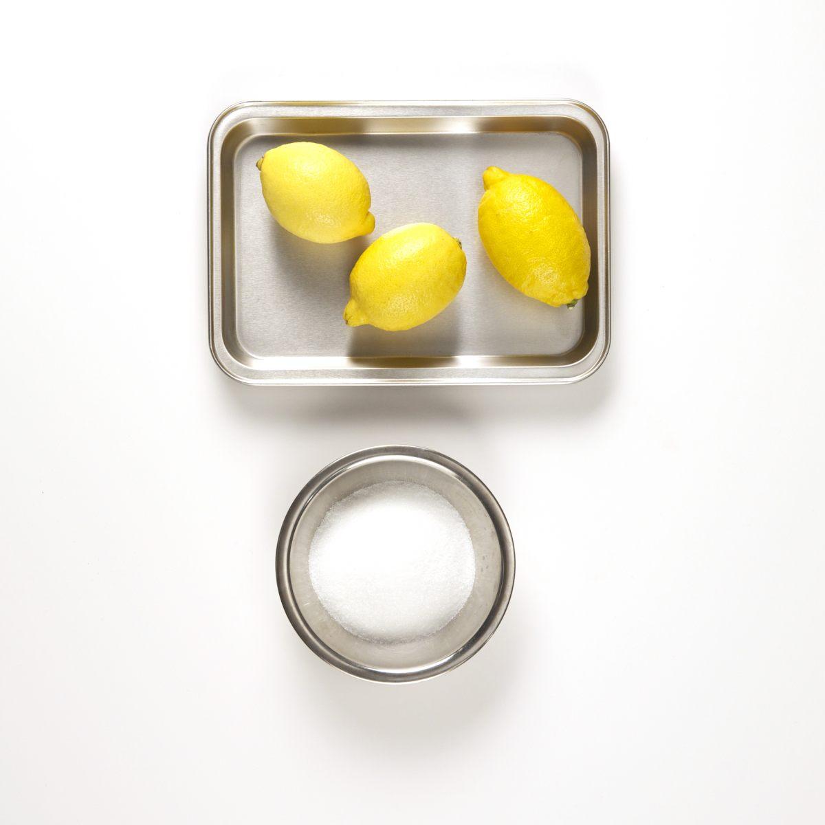 Citrons confits sucrés