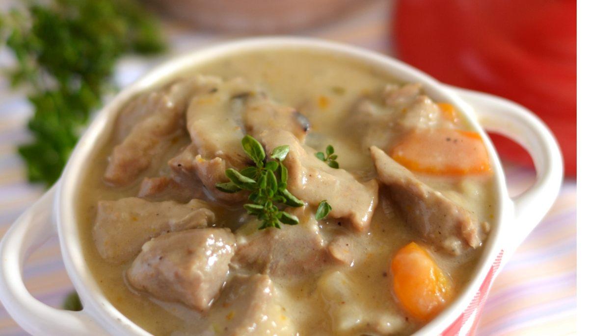 recette de blanquette de veau à l'ancienne