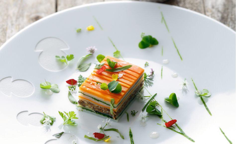 Millefeuille de l gumes sans p te par emmanuel renaut for Cuisinier 3 etoiles legumes