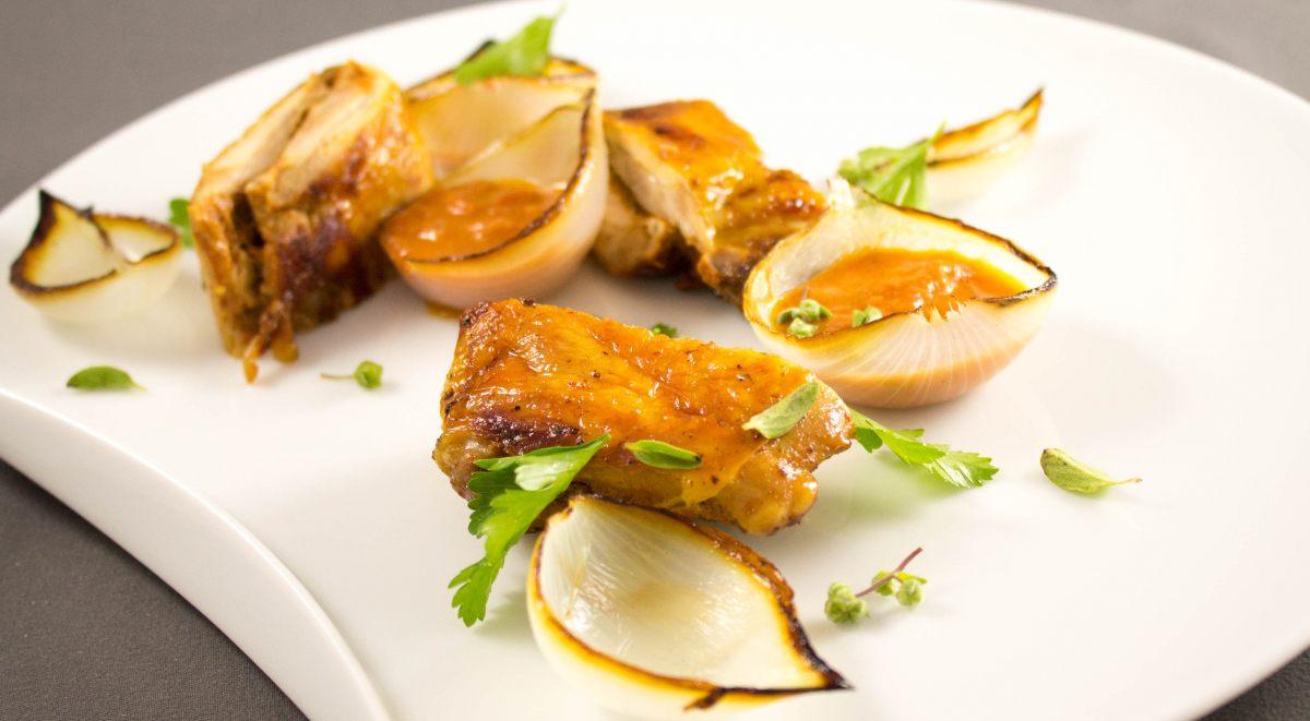 Cuisses de poulet façon tandoori