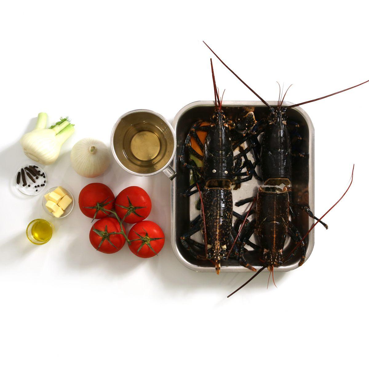 Fumet de crustacés (homard )