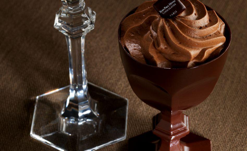 recette de mousse au chocolat noir par jean paul h vin. Black Bedroom Furniture Sets. Home Design Ideas