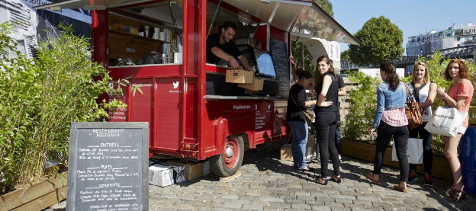 Food truck paris la cuisine australienne dans la place - Office du tourisme melbourne ...