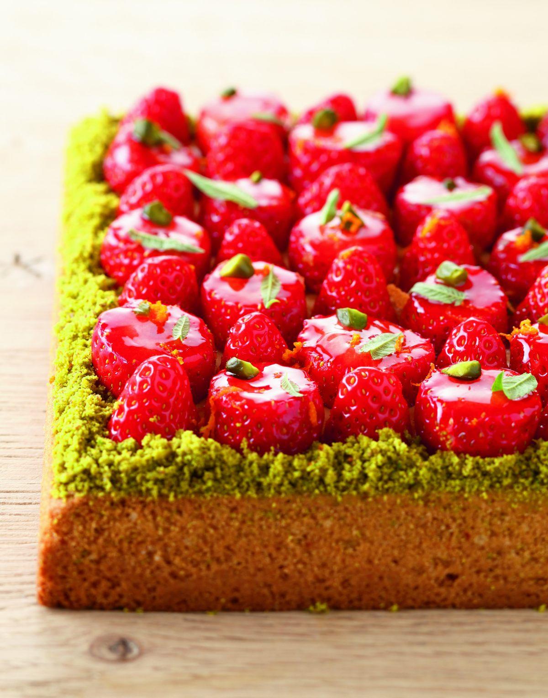 Recette de sabl breton et fraises par christophe adam - Offrir un cours de cuisine avec cyril lignac ...