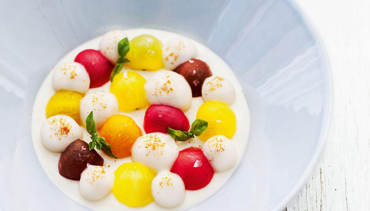 Mille Feuille Blanc Par Anne Sophie Pic Shopia Top Creme Beige L Les Petites Tomates De Couleurs