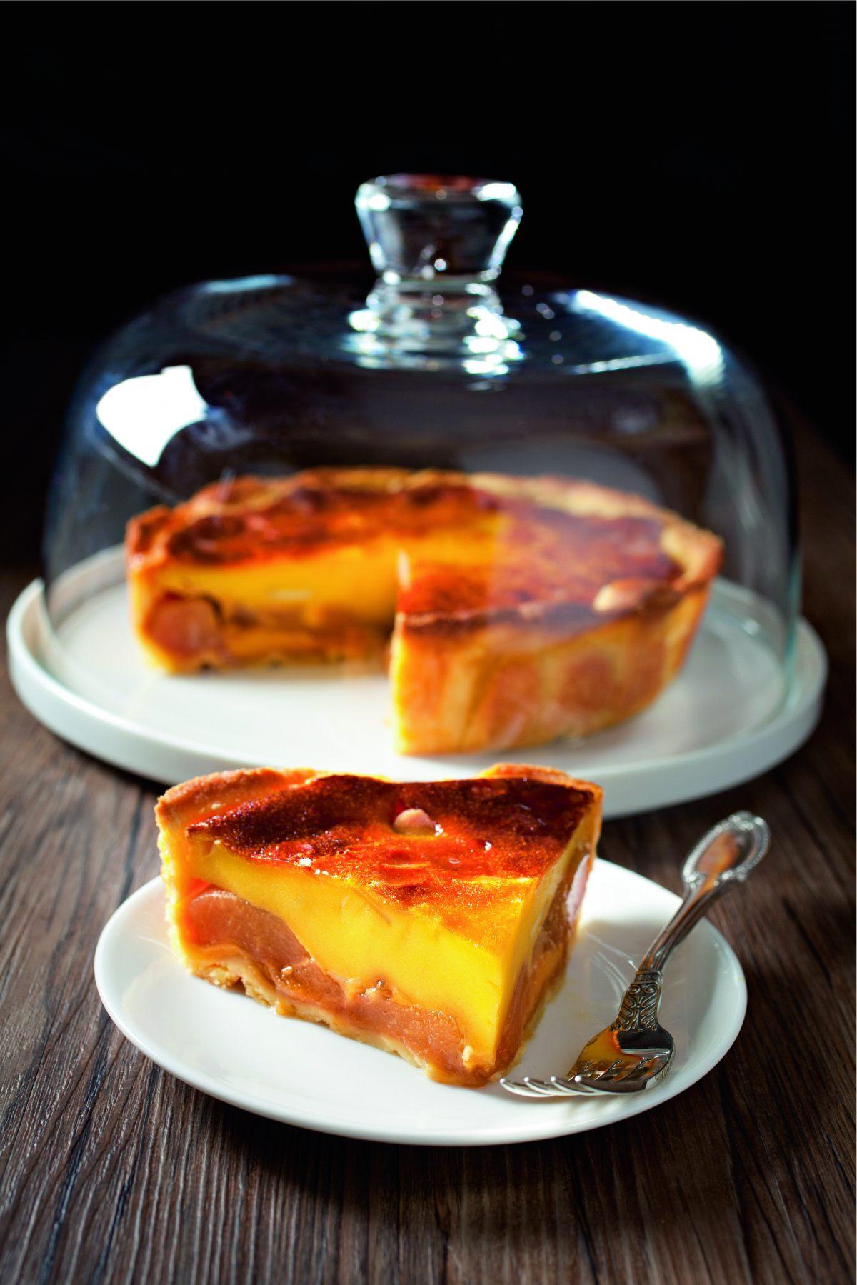Recette de clafoutis de poires au miel de robuchon par sophie - Offrir un cours de cuisine avec cyril lignac ...
