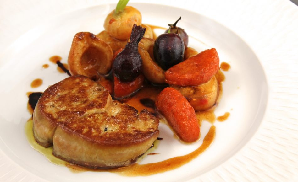 recette de foie gras po l par alain ducasse. Black Bedroom Furniture Sets. Home Design Ideas