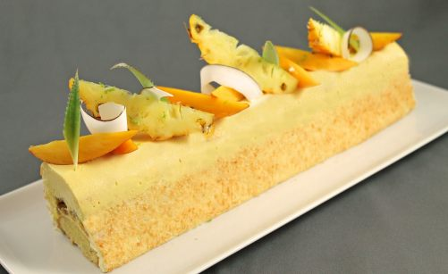 Buche de noel aux fruits mercotte