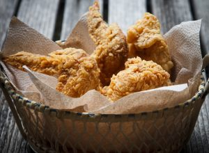Recette de fried chicken parJulie Andrieu