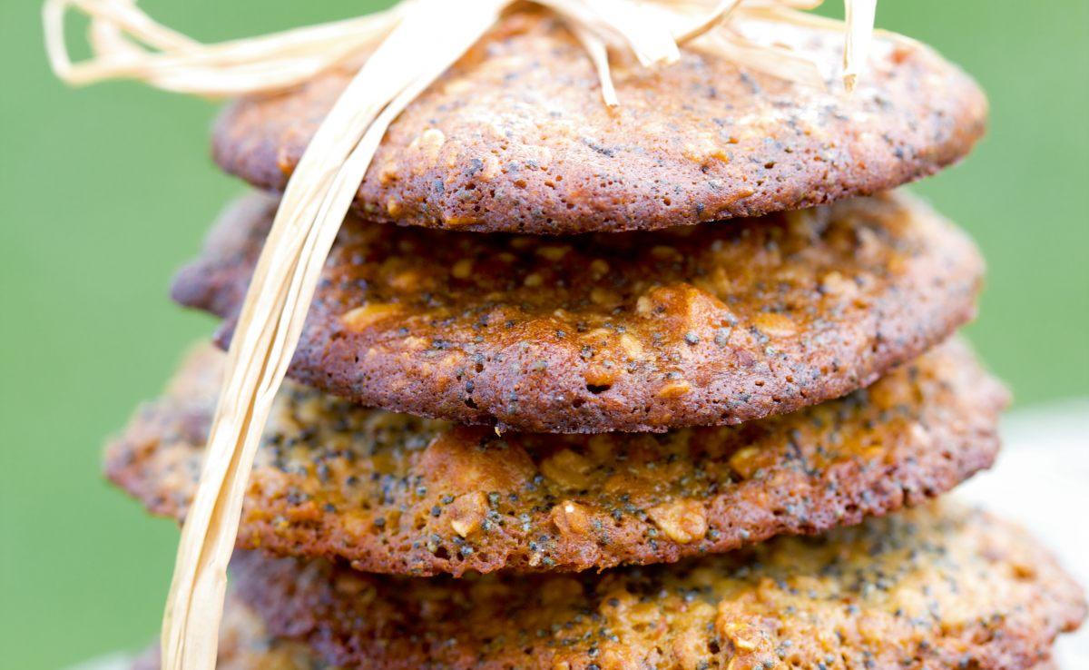 cookies au pavot citron et amandes par julie andrieu