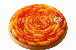 Recette de tarte à l'orange sanguine par Hugue Pouget