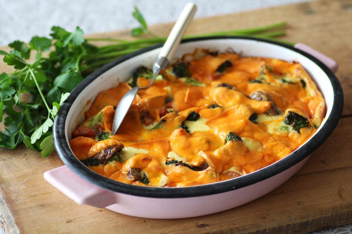 Recette de gratin brocolis et mimolette - Offrir un cours de cuisine avec cyril lignac ...
