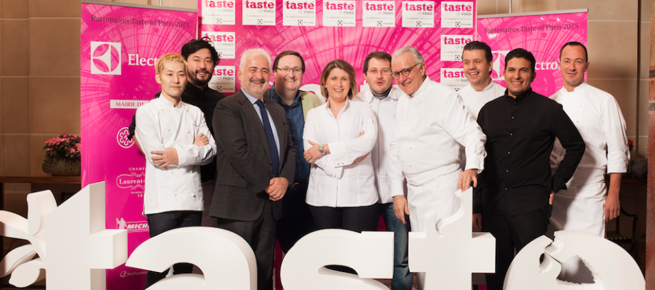 Salon taste of paris 2015 la haute gastronomie s invite for Salon gastronomie paris