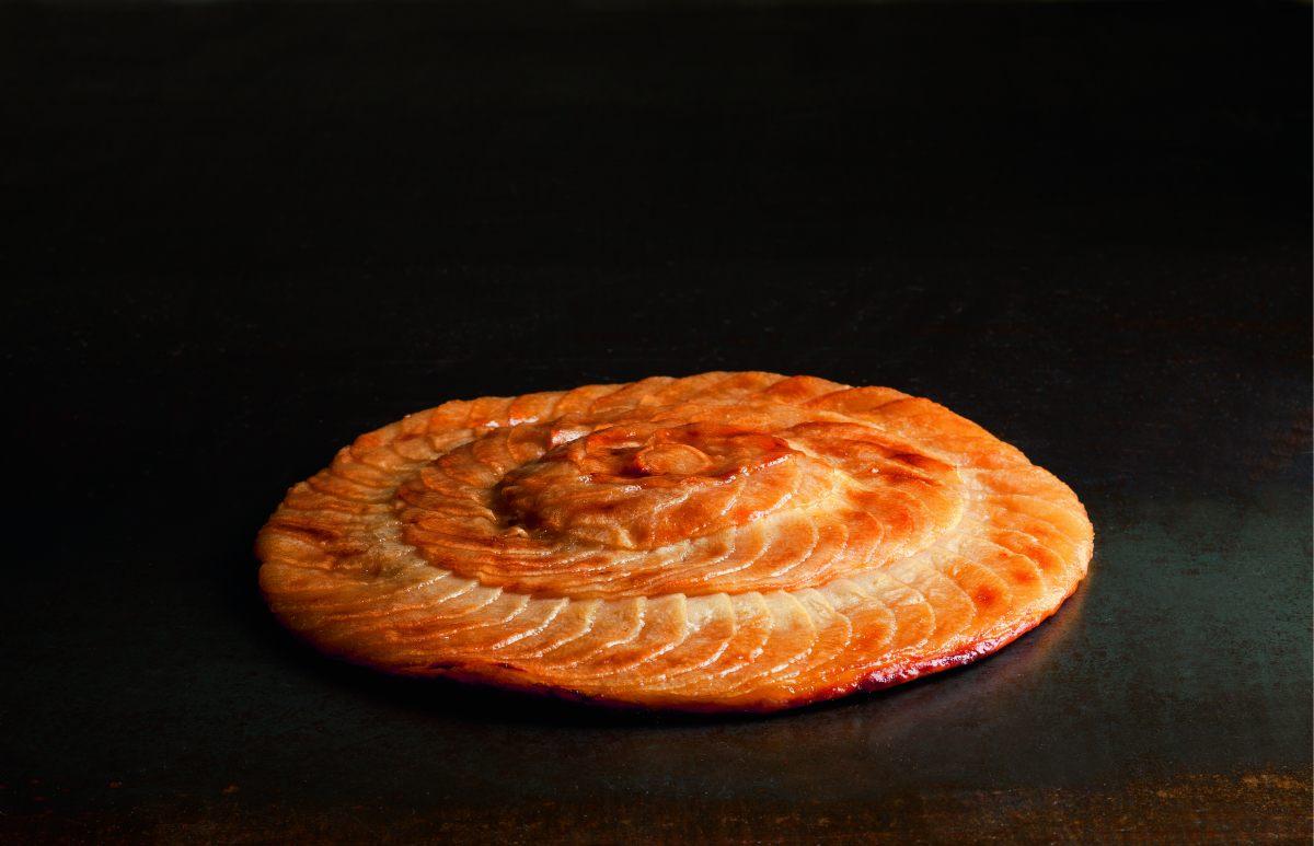 Tarte fine aux pommes par alain ducasse - Tarte aux pommes fine ...
