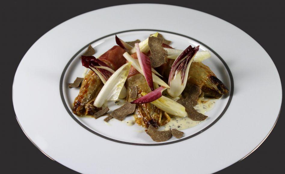 Recette d 39 endives au jambon et truffe noire par alain ducasse - Recette endives au jambon ...