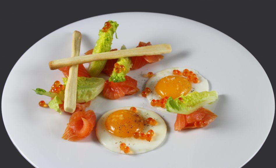 recette d 39 oeuf au plat saumon sauvage ufs de saumon par