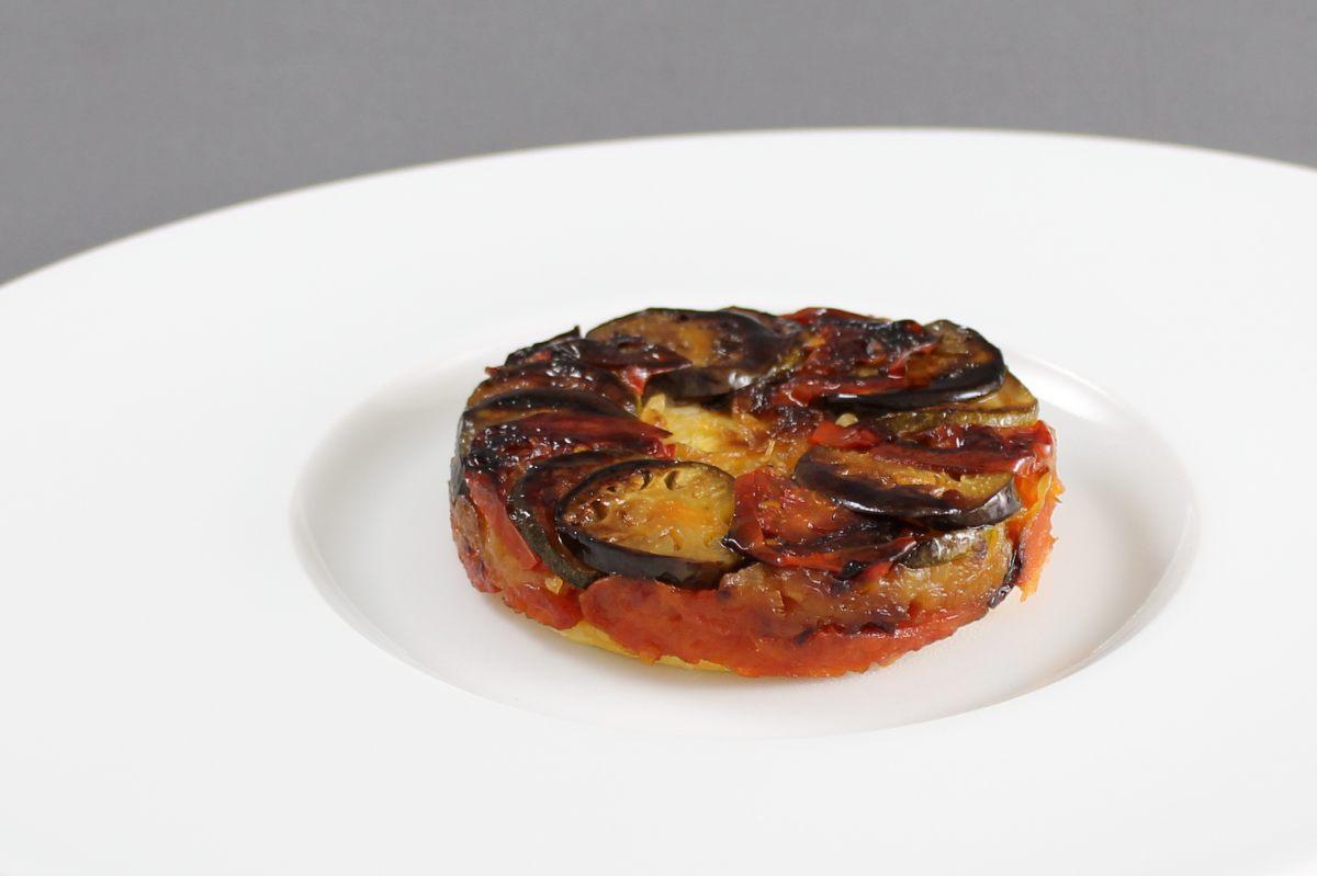 Recette de tatin de l gumes par alain ducasse - Facon de couper les legumes ...