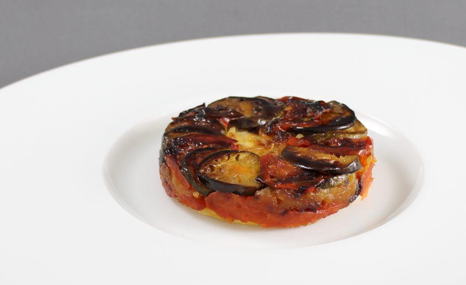 Recette de tian de l gumes fa on tarte tatin par alain ducasse - Facon de couper les legumes ...