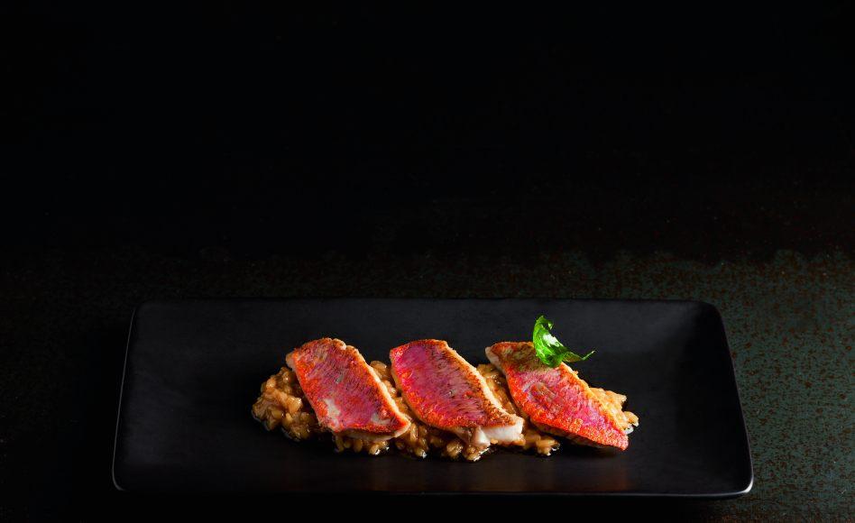 Risotto aux rougets et safran par l 39 cole de cuisine alain for Alain ducasse ecole de cuisine