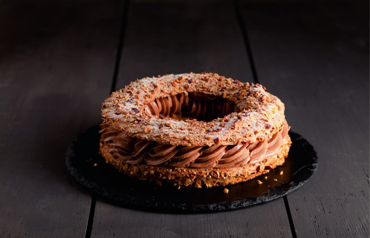 recette de paris brest aux noisettes par alain ducasse. Black Bedroom Furniture Sets. Home Design Ideas