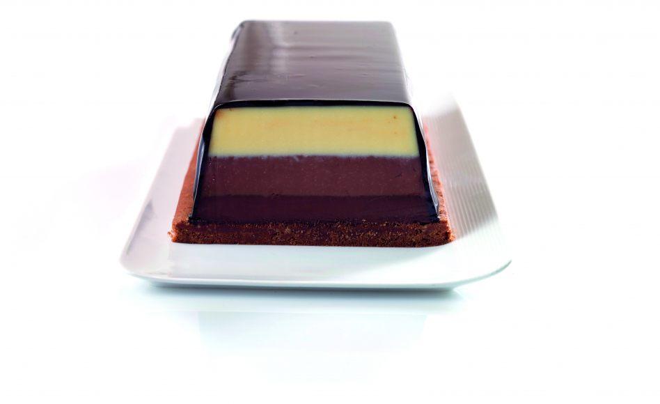 Fondant aux 3 chocolats par Alain Ducasse