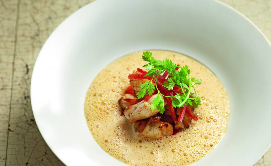 Po l e de chipirons piperade la basquaise par cyril lignac - Offrir un cours de cuisine avec cyril lignac ...