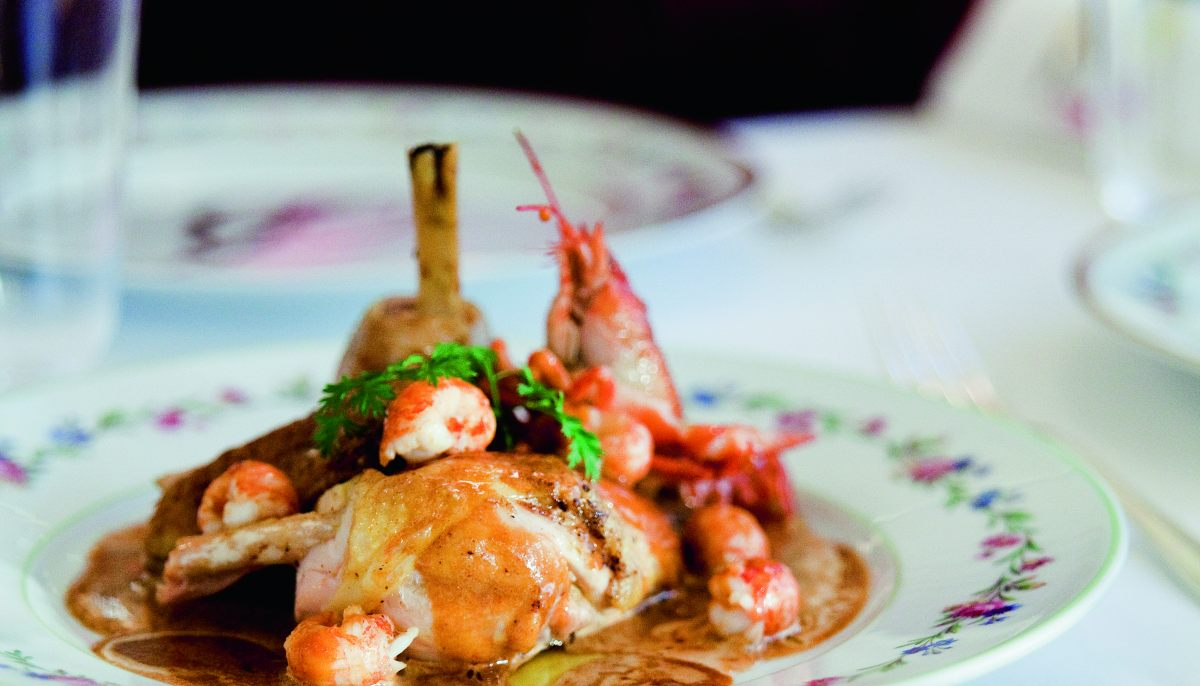 Fricass e de volaille fermi re aux crevisses par alain - Offrir un cours de cuisine avec cyril lignac ...