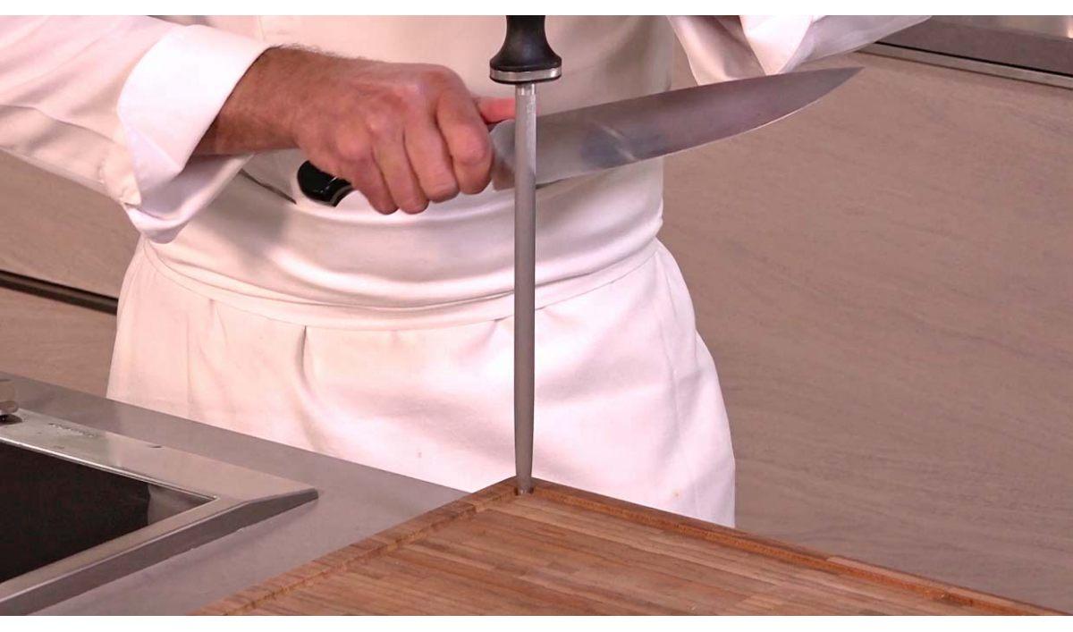 Technique pour aiguiser un couteau