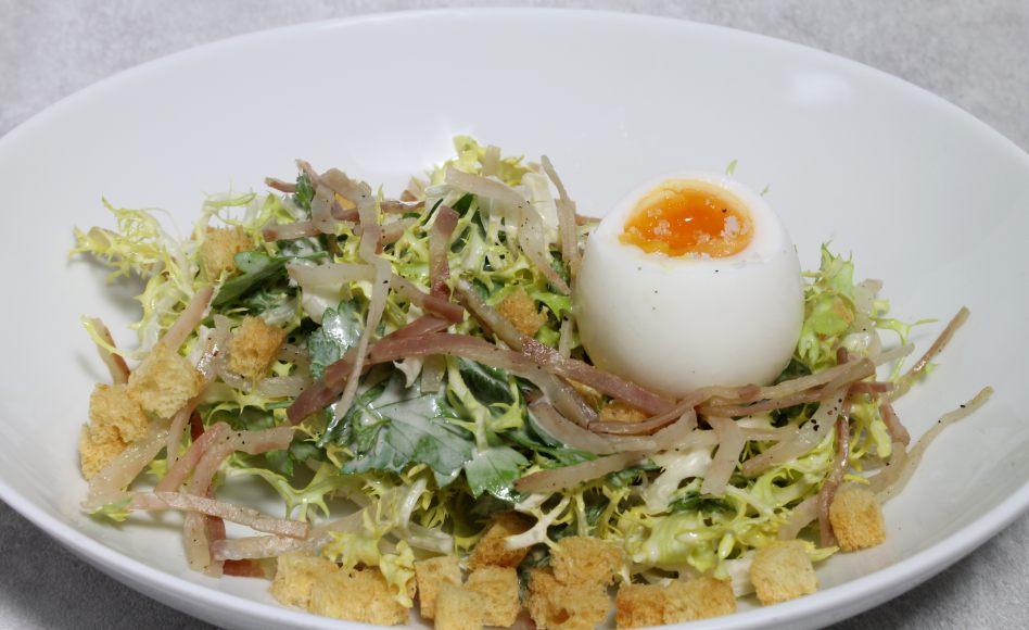 recette de salade lyonnaise light par alain ducasse. Black Bedroom Furniture Sets. Home Design Ideas