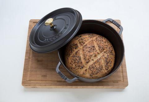 Recette de pain en cocotte - Thermostat 7 chaleur tournante ...