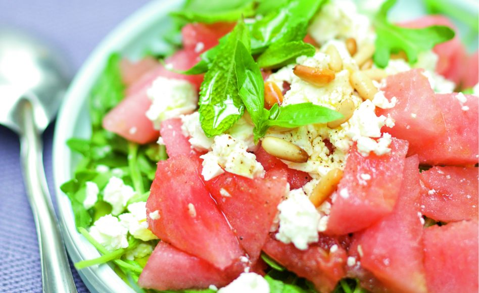 Salade de past que la feta par julie andrieu - Salade de pasteque ...