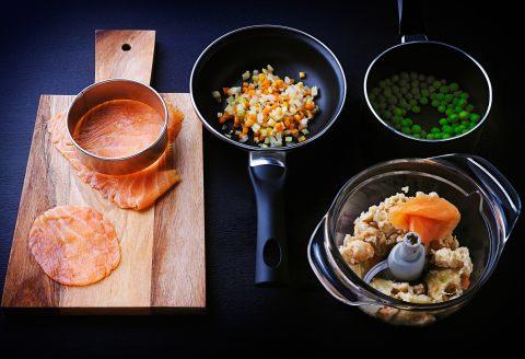 recette d 39 artichauts au saumon. Black Bedroom Furniture Sets. Home Design Ideas