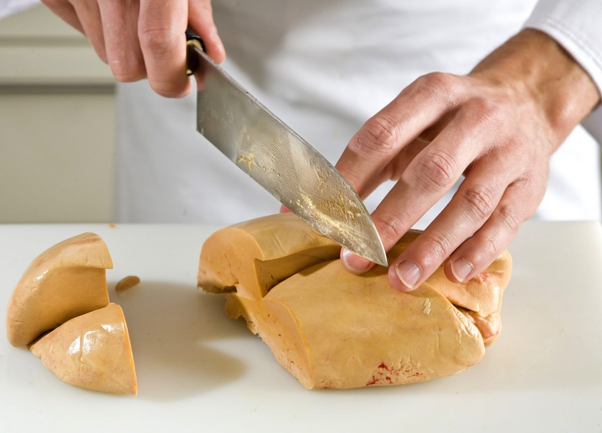 Farce au foie gras