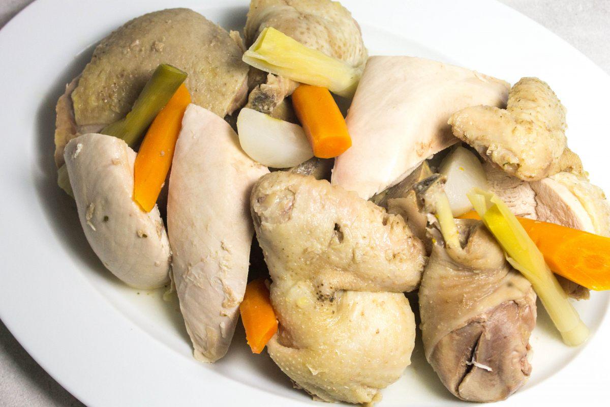 recette de poule au pot farcie par alain ducasse