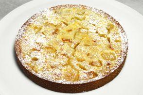 Tarte aux pommes croustillante et raisins noirs par jo l robuchon - Recette tarte au pomme normande ...