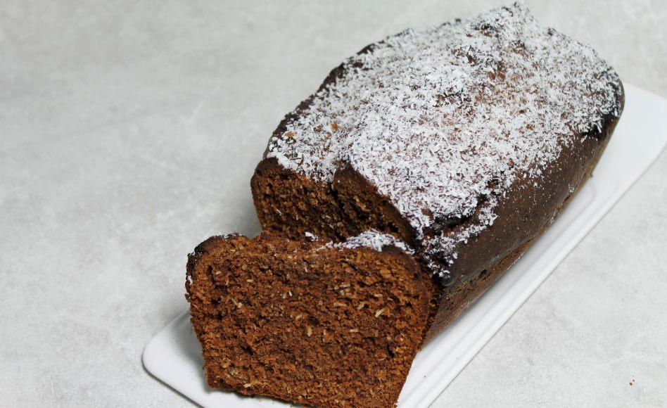 de gâteau au chocolat et à la noix de coco par alain ducasse