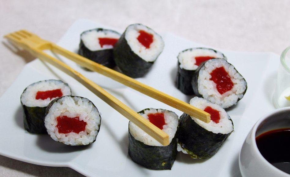 recette de nori maki sushi par alain ducasse. Black Bedroom Furniture Sets. Home Design Ideas