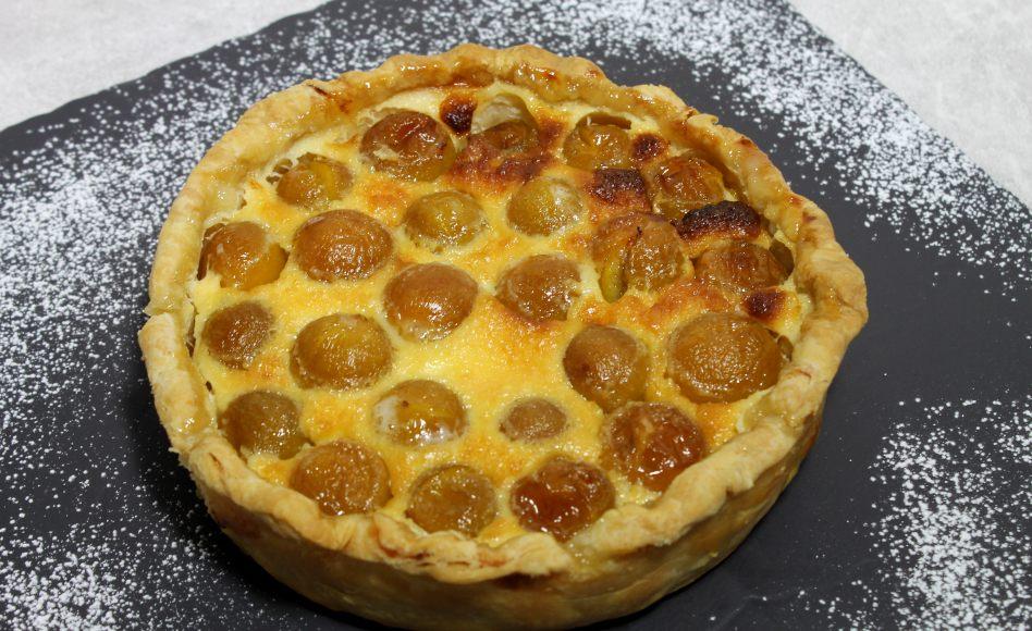 Recette de tarte aux mirabelles par alain ducasse - Recette avec des mirabelles ...