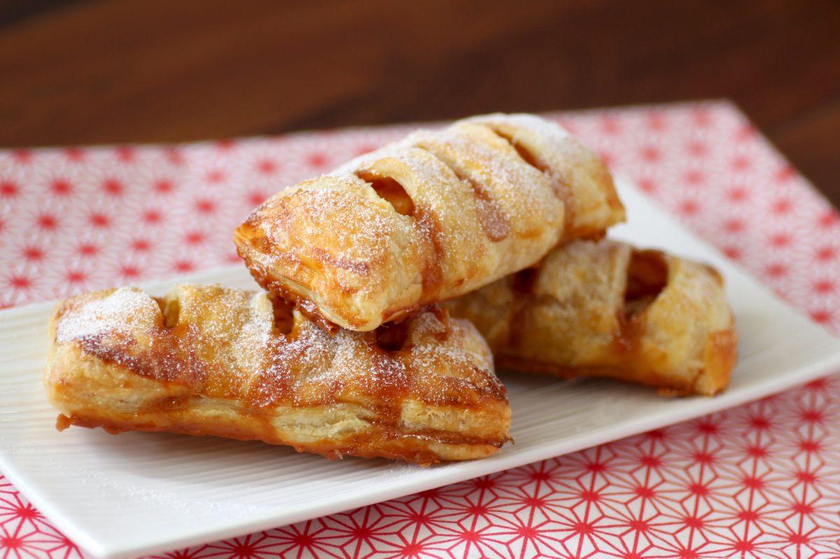 Recette de feuillet s aux pommes et caramel au beurre sal - Offrir un cours de cuisine avec cyril lignac ...