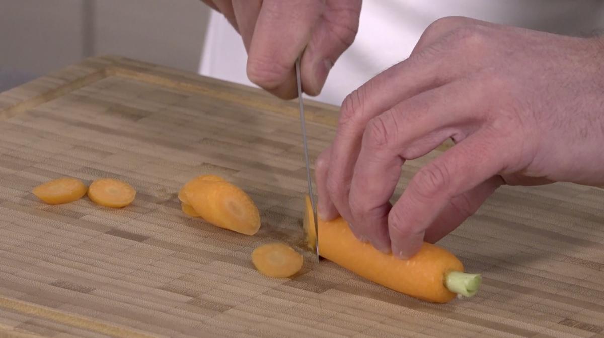 Techniques de taillages de légumes