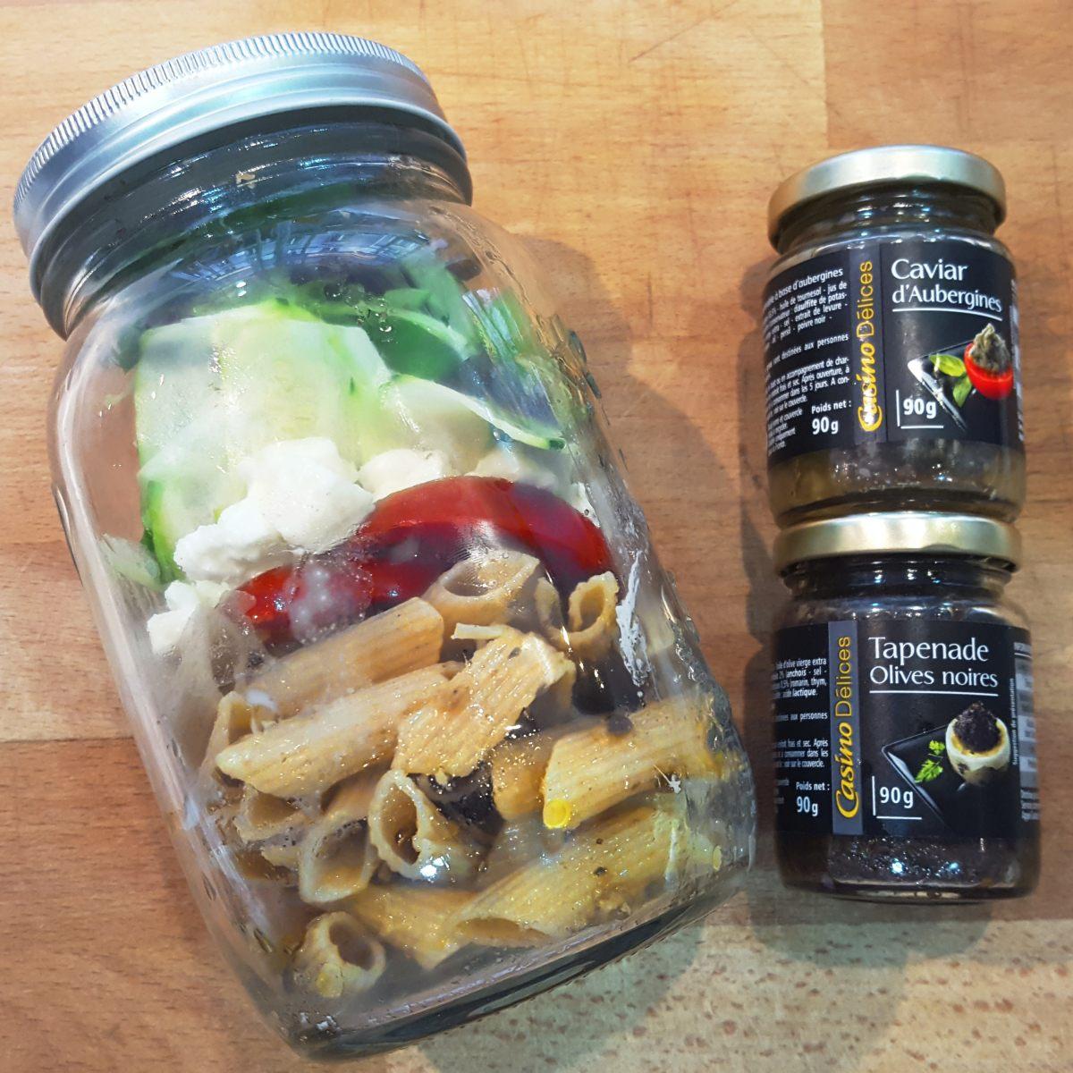 Salade fraîcheur en bocal