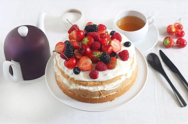 Cake De Sophie Aux Fruits Rouges