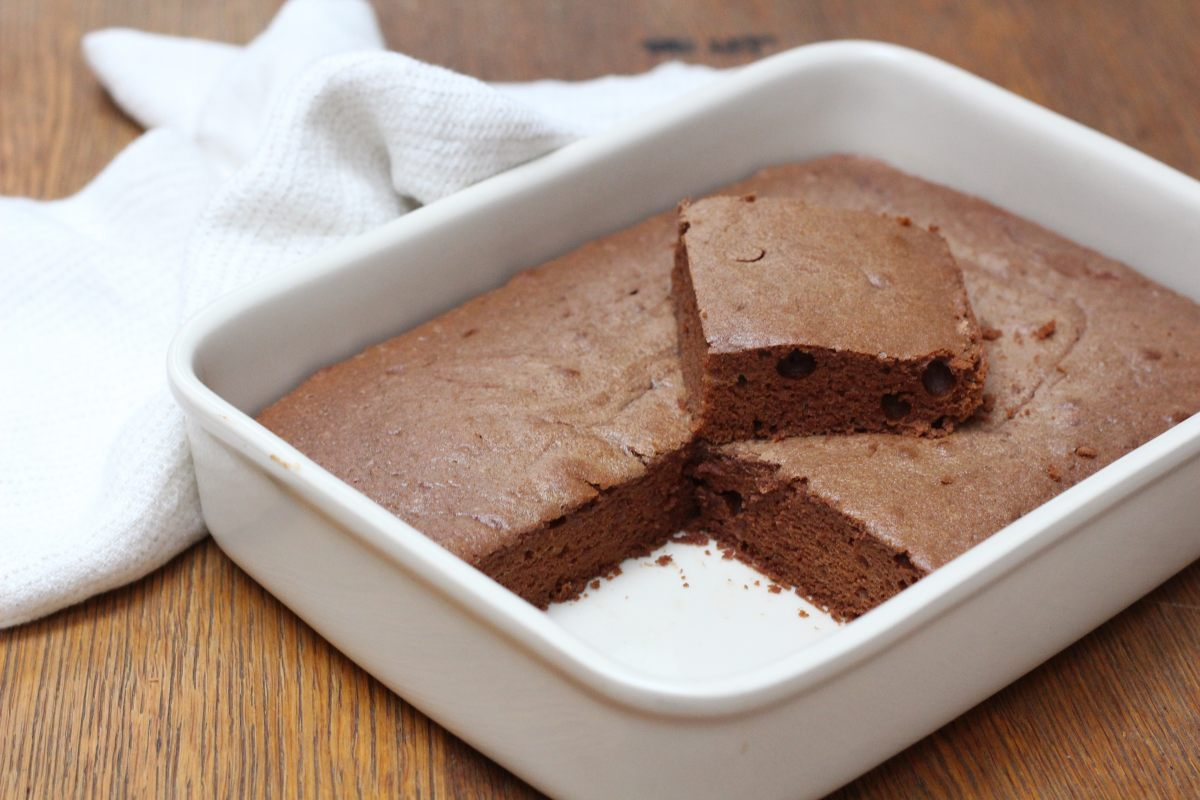 Gâteau moelleux chocolat et crème de marrons